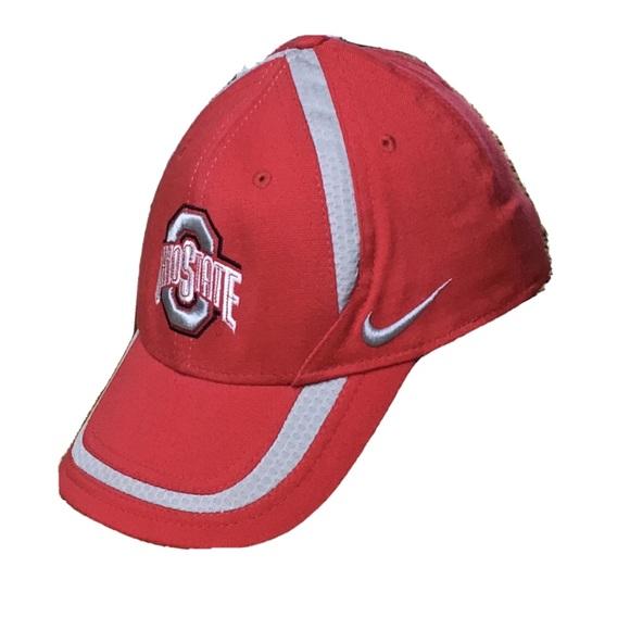 Ohio State red baseball Nike cap hat